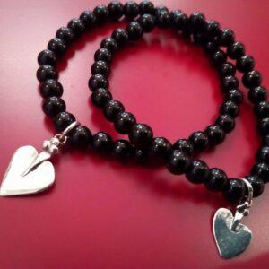 bracciale cuore eoliano argento (2)